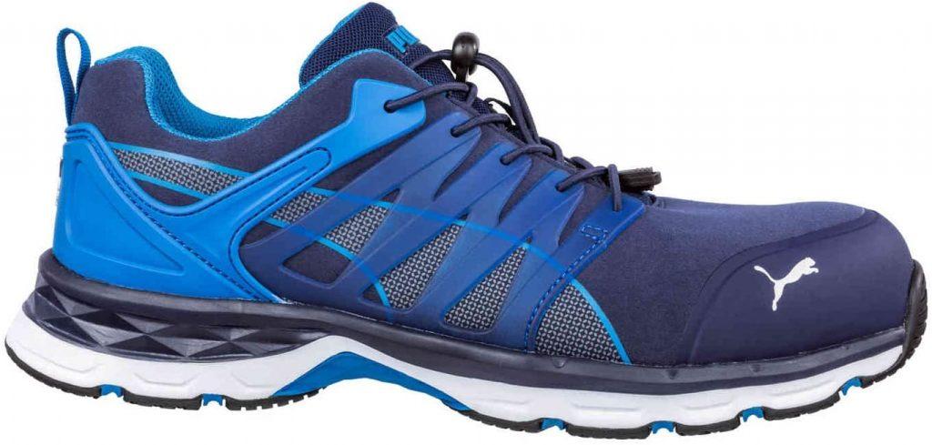 Chaussures de sécurité PUMA Safety ESD S1P - VELOCITY 2.0 BLUE LOW