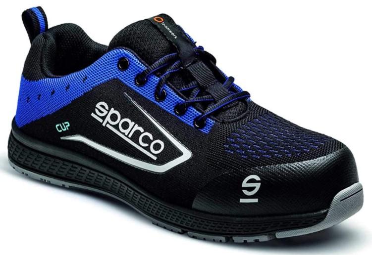 Sparco Cup S1P Chaussures de sécurité Ultra-légères Tissu Respirant