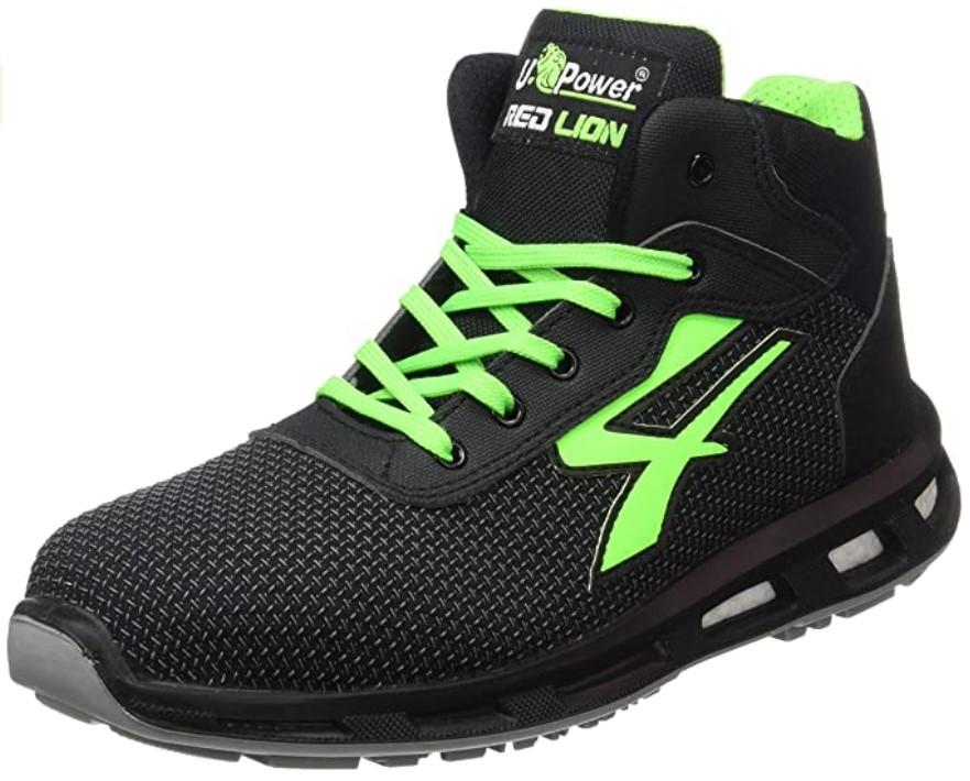 U-Power RedLion Hard Chaussures de sécurité haute S3 SRC