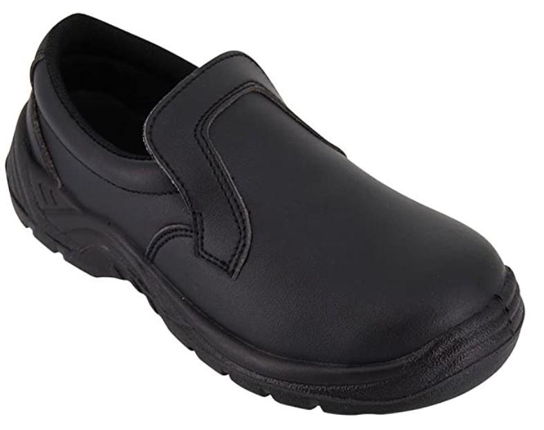 chaussure de cuisine noire - iso 20346 - hurry jump