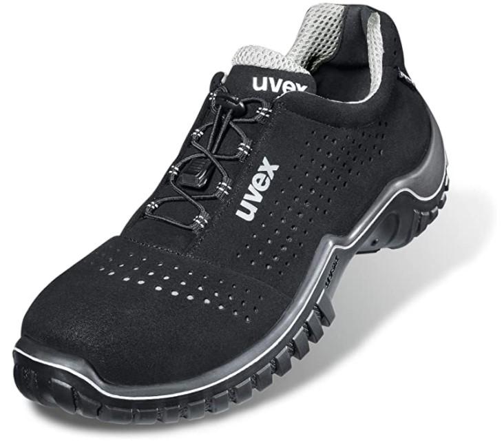 chaussure de sécurité basse noire - Uvex