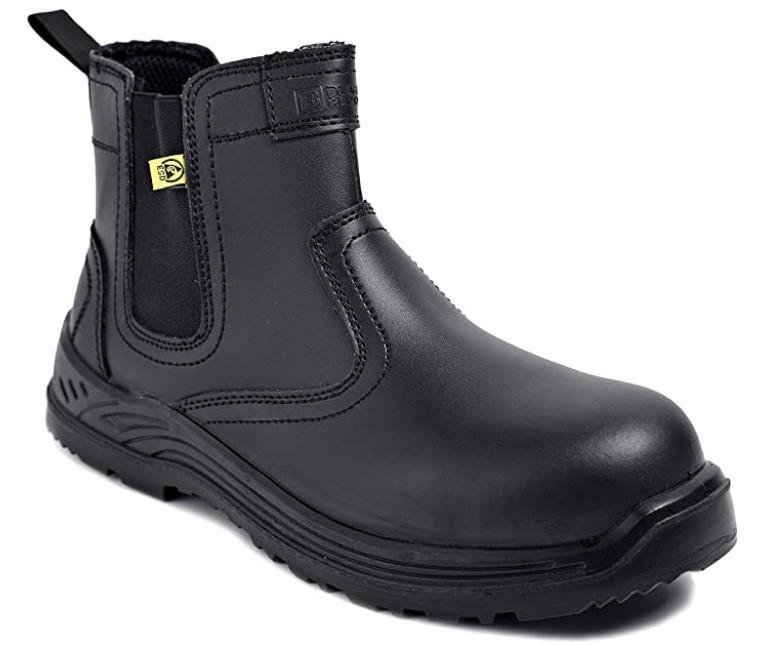 chaussure de sécurité montantes sans lacets - Black Hammer 8872