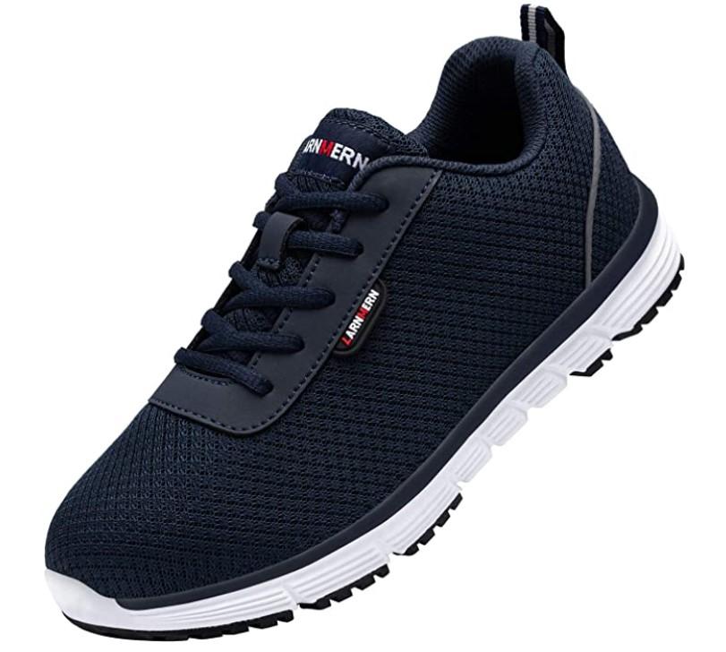 chaussures de sécurité S1 SRC homme pieds sensibles - Larnmern noire