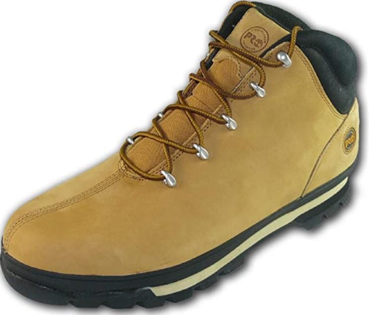 Timberland Pro Splitrock Chaussures de sécurité en Cuir avec Bout en Acier
