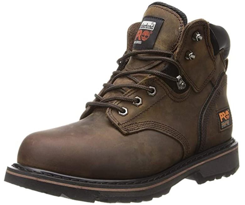 chaussures de sécurité marron Timberland Pro Pit Boss