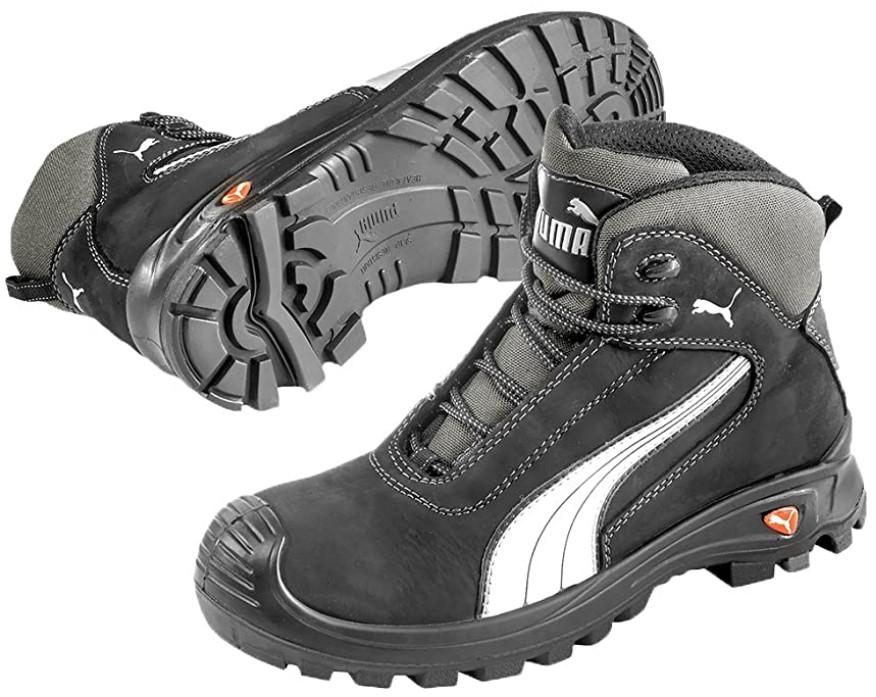 chaussures de sécurité montantes Mixte Adulte - PUMA Cascades Mid S3 HRO SRC