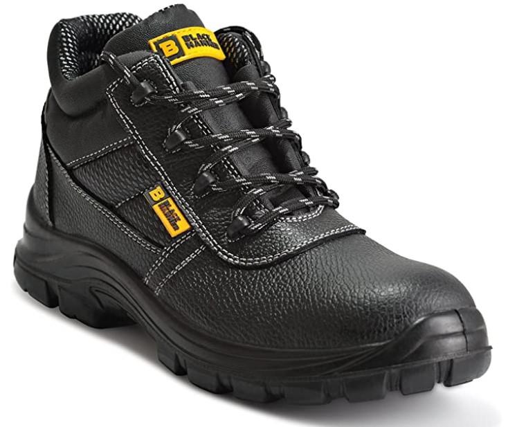 chaussures de sécurité montantes en cuir - Black Hammer 1007