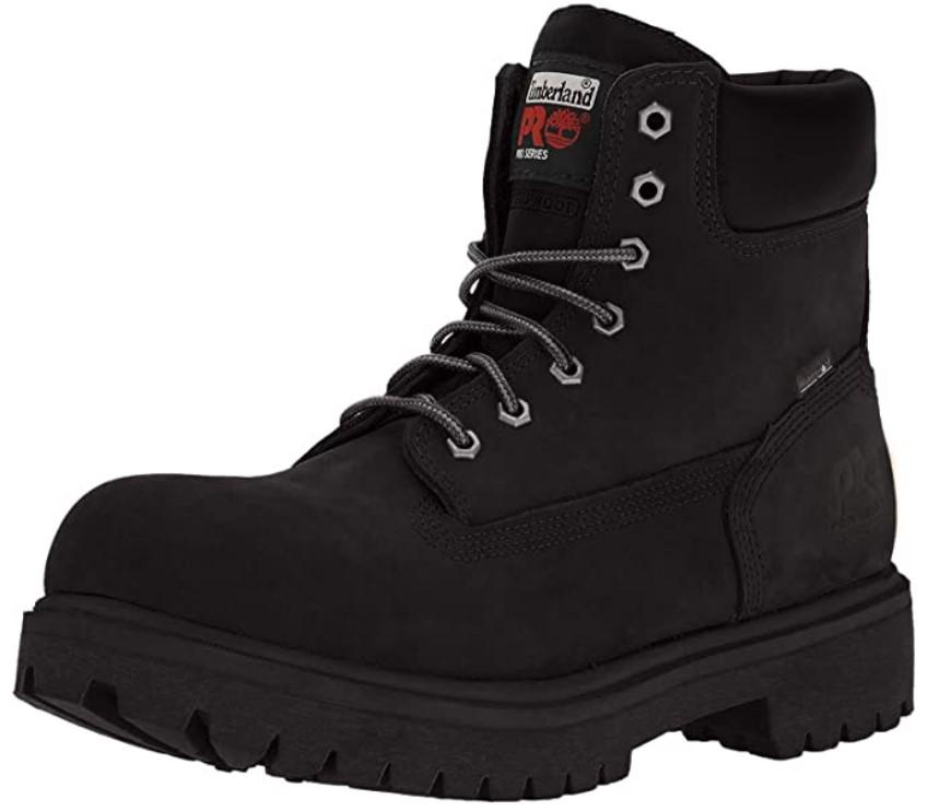 chaussures de sécurité noires Timberland Pro
