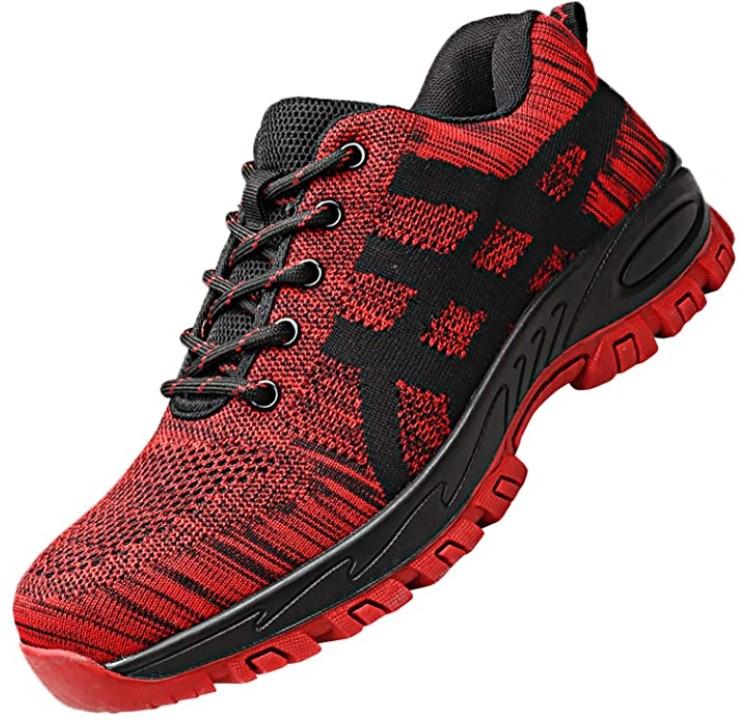 chaussures de sécurité rouges pieds sensibles - Ucayali