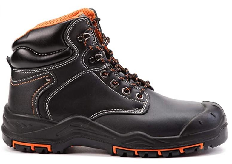 chaussures montantes de sécurité - Black Hammer 9972
